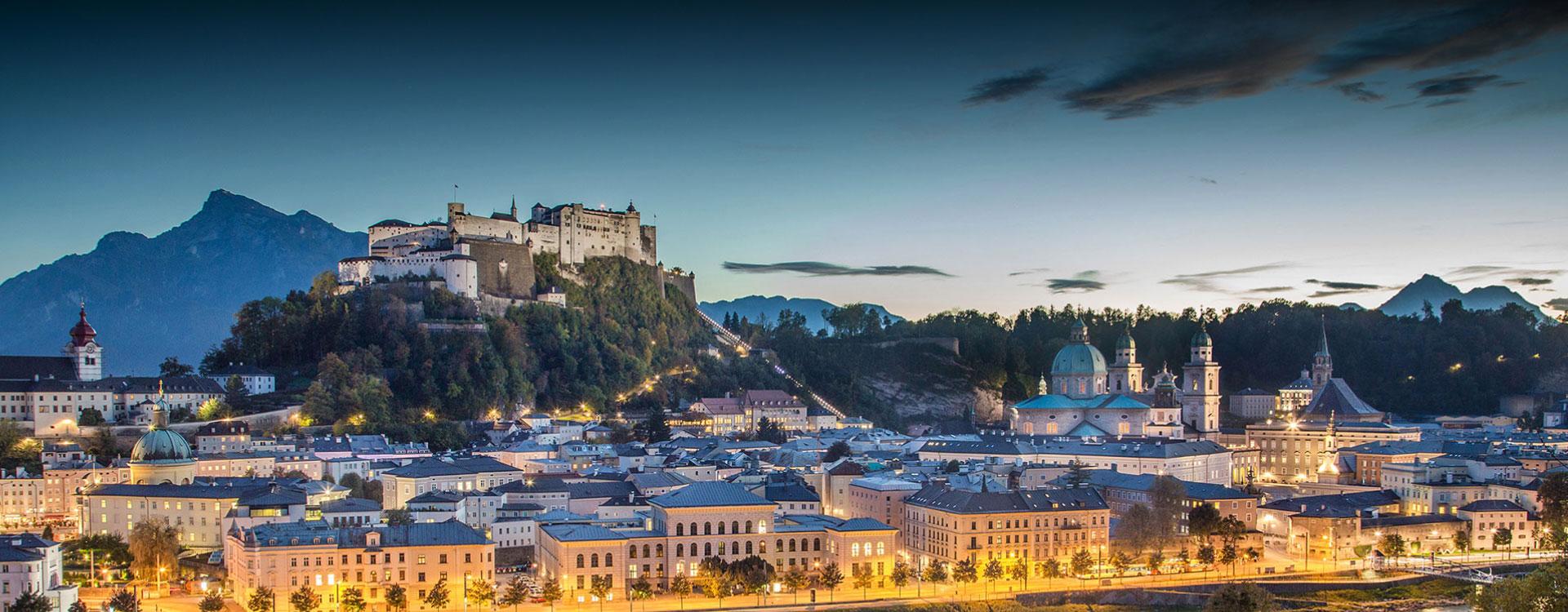 Ausflugsziel Stadt Salzburg