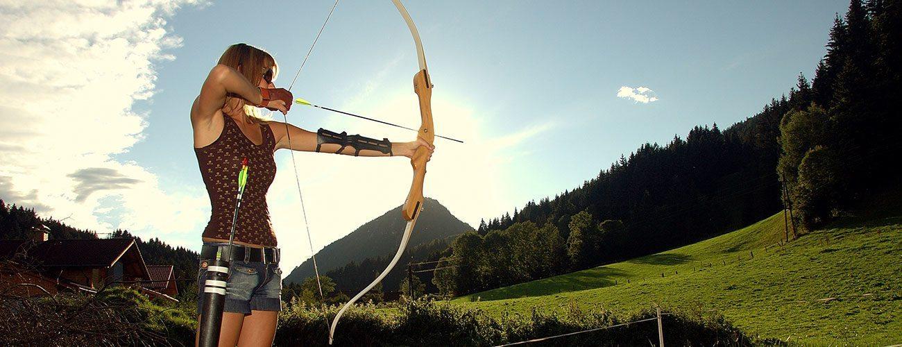 Bogenschießen - Sommerurlaub in der Urlaubsregion Schladming-Dachstein, Steiermark