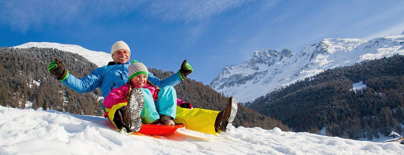 Rodeln in der Urlaubsregion Schladming-Dachstein