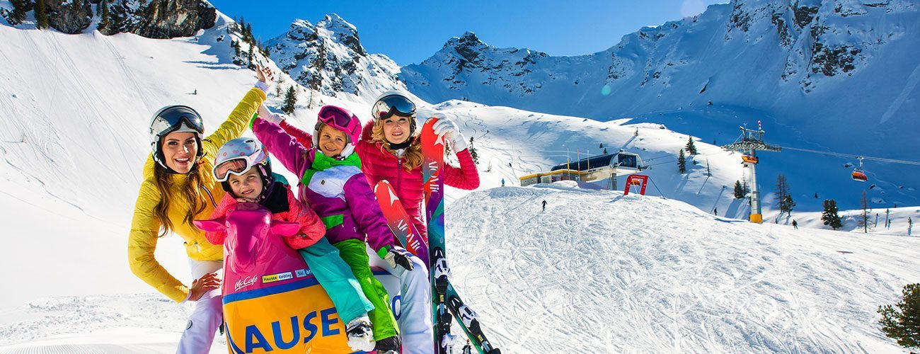 Winter Ski Holiday Right On The Slopes Hauser Kaibling