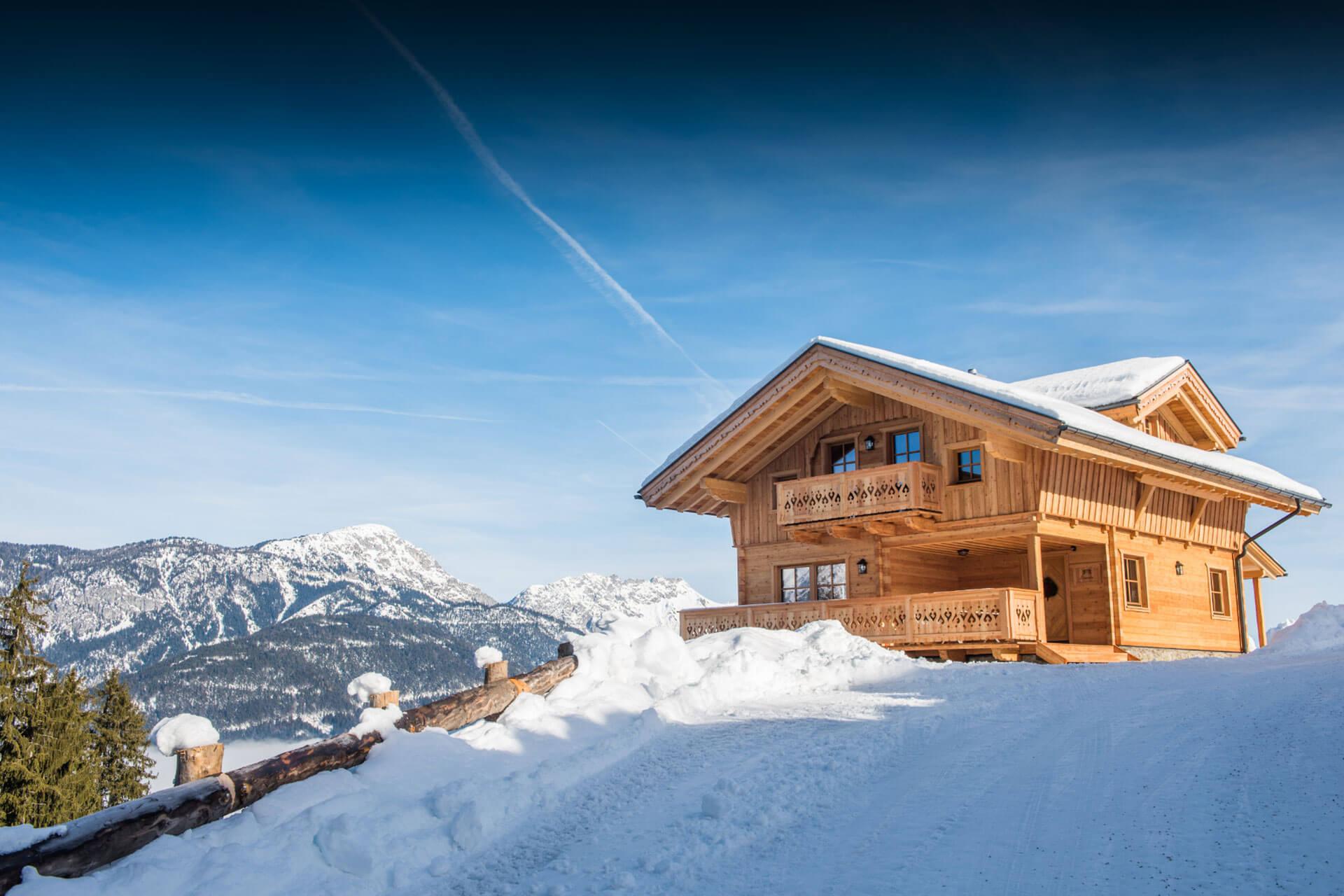 Hütte direkt an der Piste - Skiurlaub in Schladming, Österreich