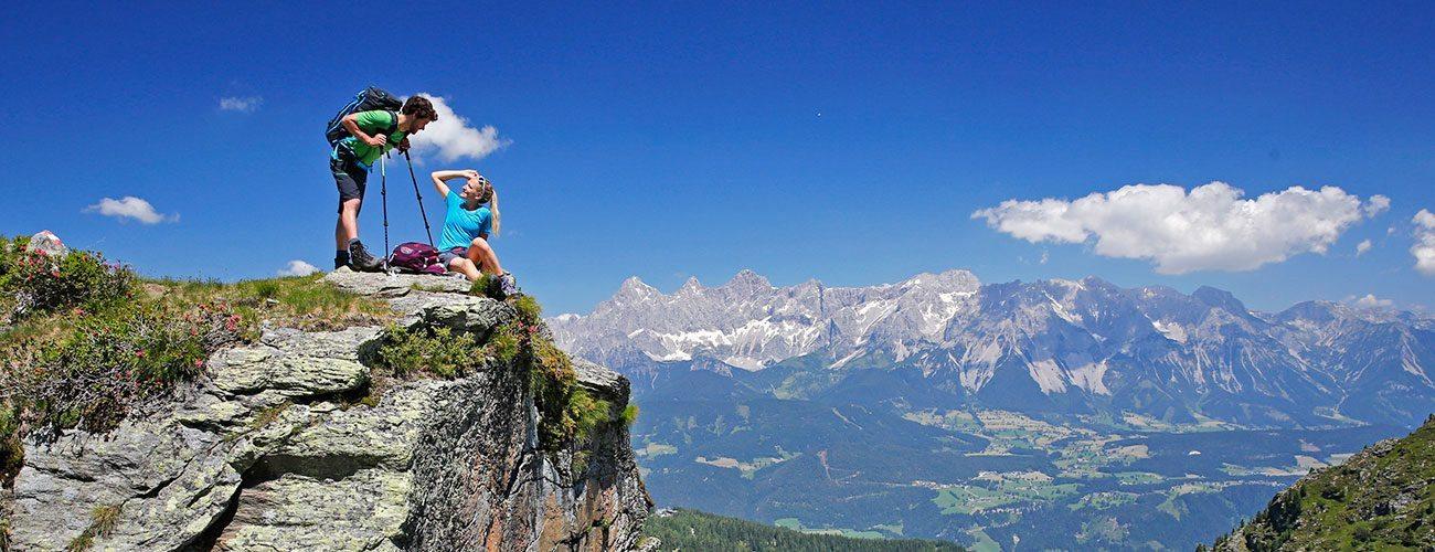 Wanderurlaub in der Urlaubsregion Schladming-Dachstein, Steiermark